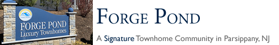 Forge Pond in Parsippany NJ Morris County Parsippany New Jersey MLS Search Real Estate Listings Homes For Sale Townhomes Townhouse Condos   Forge Pond Townhouses Parsippany   ForgePond Townhomes